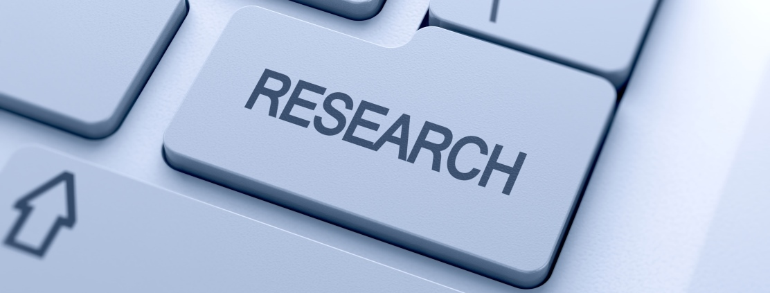 Research word button