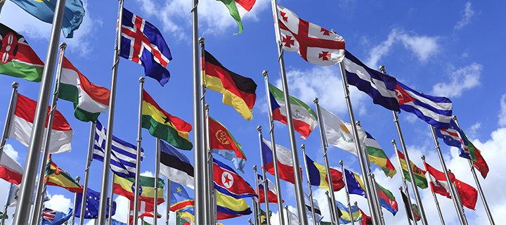 World flags – ArtisticPhoto - Shutterstock
